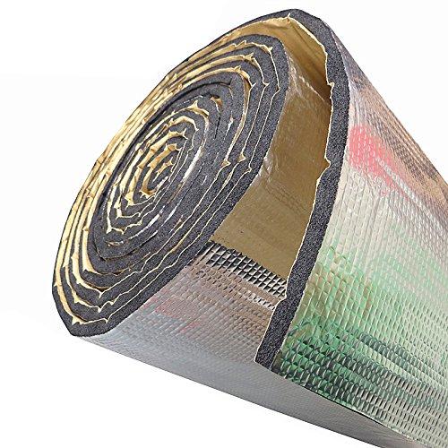 SOOMJ Heat Shield Car Sound Deadener Material Noise Dampener Sound Deadener Heat Barrier Mat Closed Cell Foam with Aluminum sheet 1100(AA) by SOOMJ