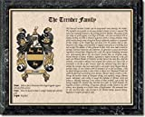 Your Coat of Arms and Family History Surname Prints