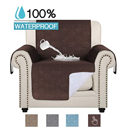Brilliant Amazon Com 100 Waterproof Chair Slipcovers Quilted Upgrade Bralicious Painted Fabric Chair Ideas Braliciousco