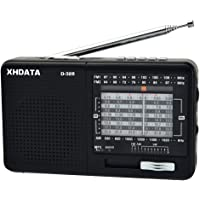 XHDATA D-328 Portable Radio FM Am SW Band MP3 Player Support with TF Card (D-328)