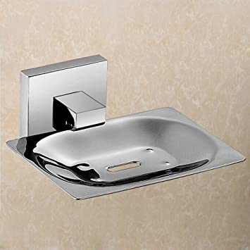 KES Bathroom Toilet Soap Dish Wall Mount SUS304 Stainless Steel, Polished  Finish, A21342
