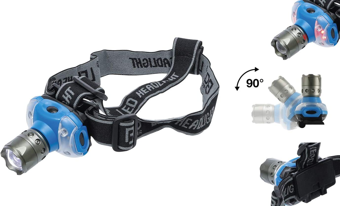 LED-Stirnleuchte mit Fokus 3W BGS technic BGS 85327