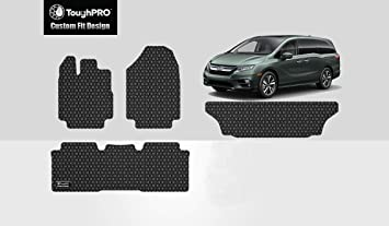 New Toyota Verso 09 to 12 Black Tailored Set of 3 Fitted Carpet Car Floor Mats