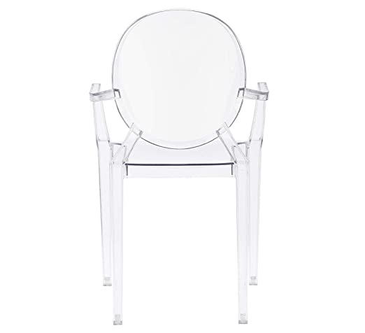Amazon.com: Wood & Style - Juego de 4 sillones de madera ...