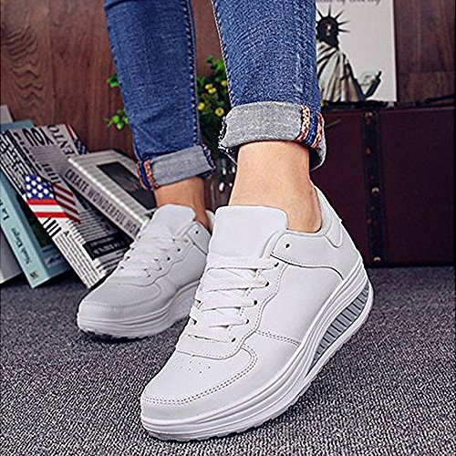 Sneakers Basket Femme Outdoor zhenghewyh Filles Basses Chaussures Multisports Sport 1gqwd