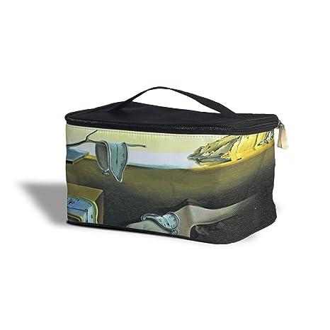 Relojes de fusión Salvador Dalí Fine Art cosméticos caja de almacenamiento – maquillaje con cremallera bolsa