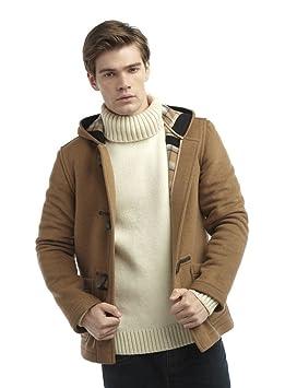 Mens Short Duffle Coat Camel: Amazon.ca: Sports & Outdoors