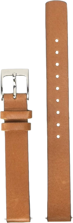 Skagen Women's 12mm Leather Casual Watch Strap, Color: Brown (Model: SKB2020)