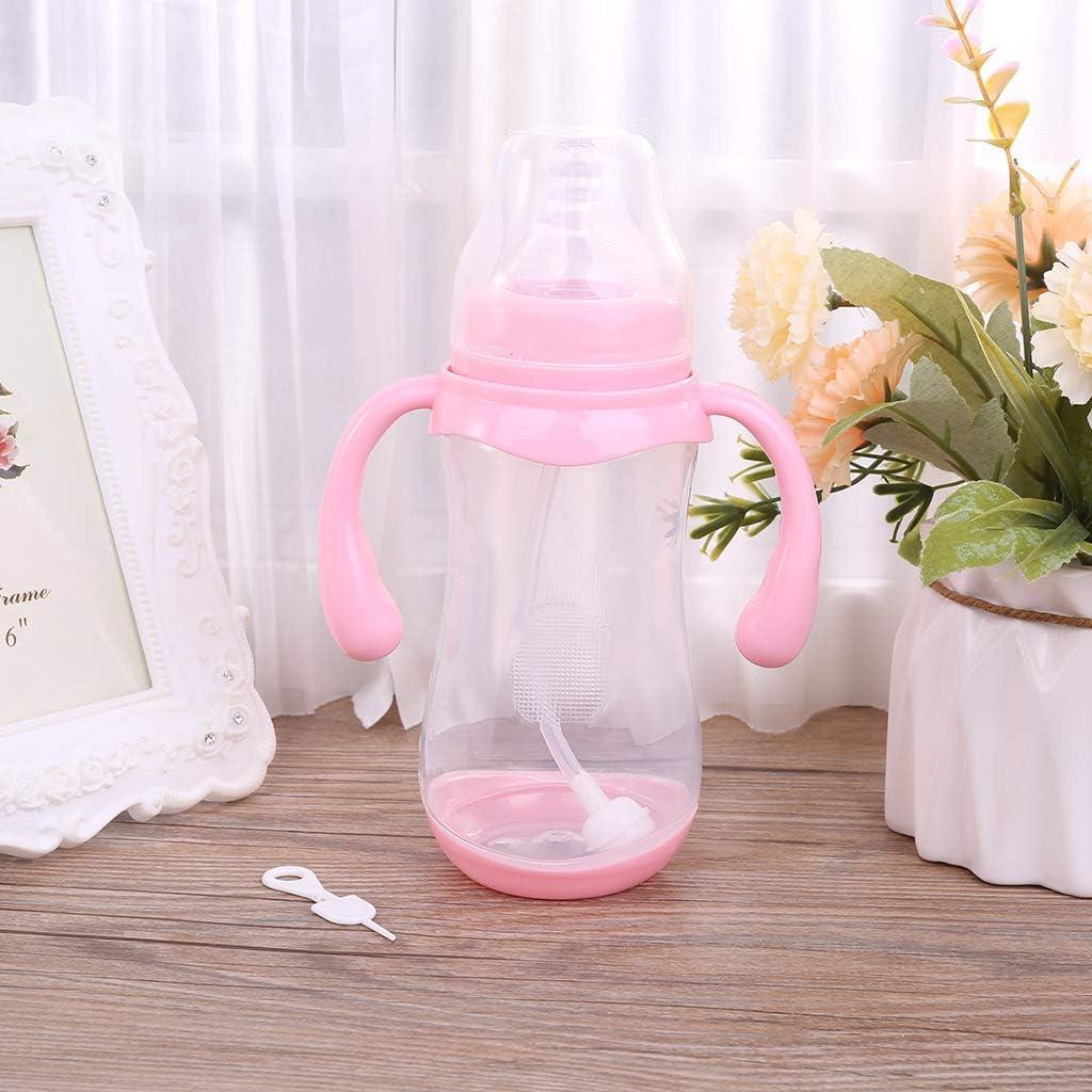 FATTERYU 1 St/ück 320 ML Weithals Anti-Colic Baby Kleinkind Milch F/ütterung Nippel Flasche Nurser Neu