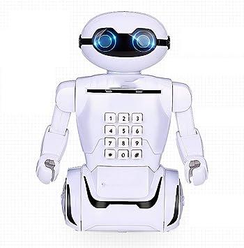 Anti-caída de los niños Hucha Creativo Robot contraseña Caja ...