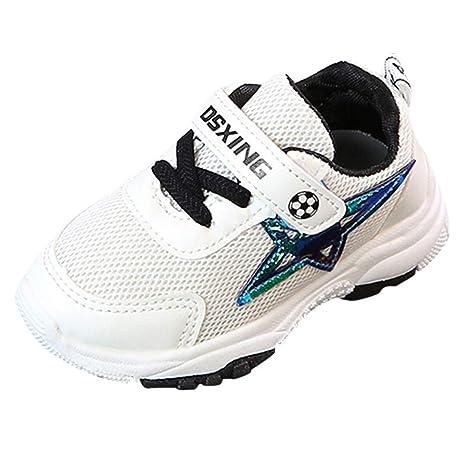 Zapatillas Unisex Niños ZARLLE Zapatos Patrón de Pentagram Niños Niñas Zapatillas Niño Zapatillas para Bebés Zapatos