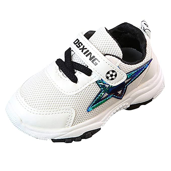 91d6d30282bef6 Scarpe Bambino Stella Stampata Sportive Sneaker, Homebaby Traspirante  Running Scarpe Calcio Ginnastica Eleganti Bambini De Ragazzi Ragazze Casual  Scarpe ...