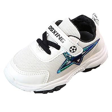 ebb6b9616feea Chaussures Bébé Binggong Chaussure de Course Sport Walking Shoes Running  Compétition Entraînement Chaussure à la Mode
