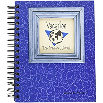 Vacation, The Travelers Journal - Blue Hard Cover