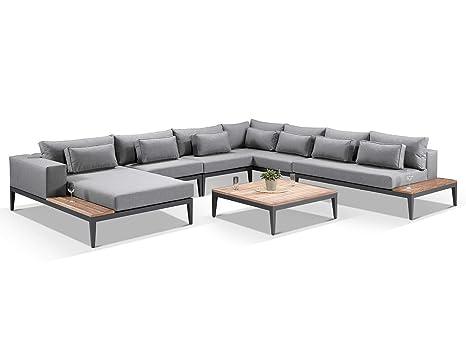 Large Outdoor Designer Modern Modular Corner Sofa