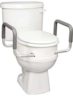 Awesome Amazon Com Essential Medical Supply Elevated Toilet Seat Pabps2019 Chair Design Images Pabps2019Com