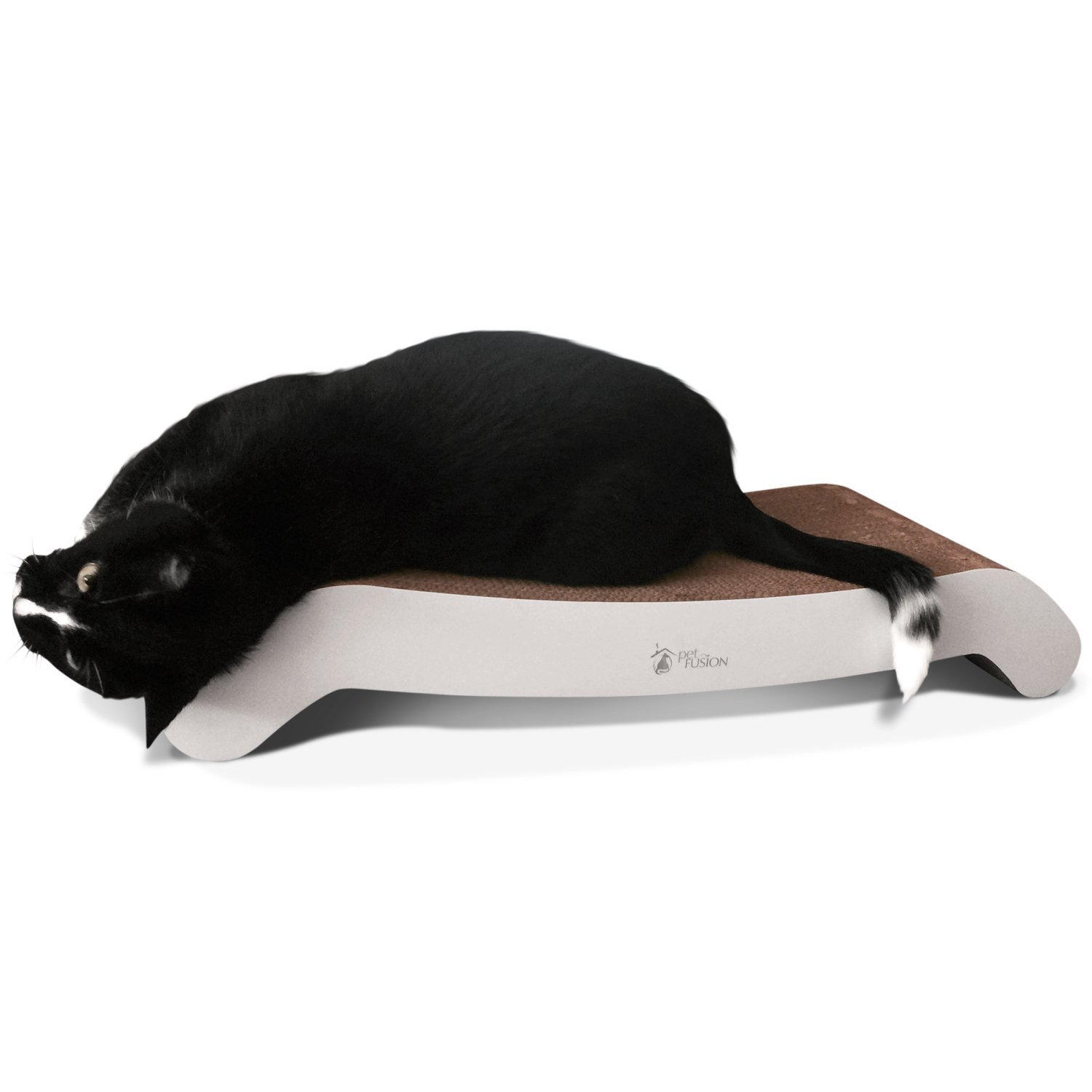 PetFusion Cat Scratcher FLIP LOUNGE. [Reversible and @ 27'' fits even the largest cats