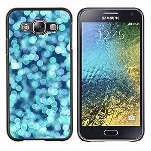 LECELL--Funda protectora / Cubierta / Piel For Samsung Galaxy E5 E500 -- Blue Water Ocean Surf Verano --