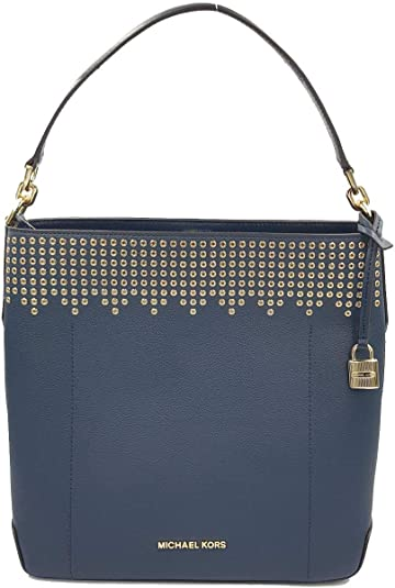 52def5833cdf Michael Kors Hayes Large Bucket Shoulder Bag Purse  Handbags  Amazon.com