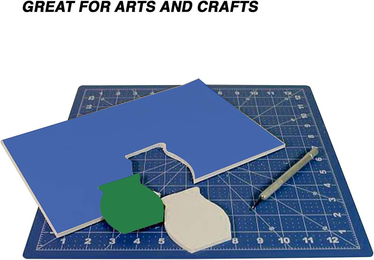 Pack of 12 Black Foam Board Non Toxic High Grade 20 X 30 Sheets Perfect for School DIY Arts /& Craft by Emraw Office and Home