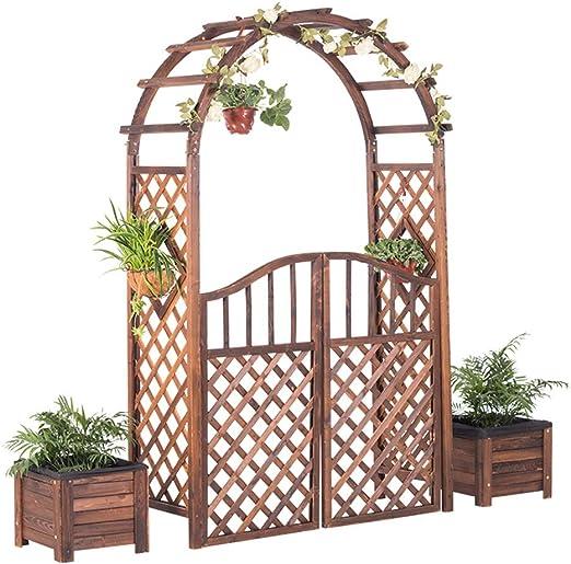 XLOO Cenador de jardín, Arcos de jardín de Madera, Abeto Chino ...