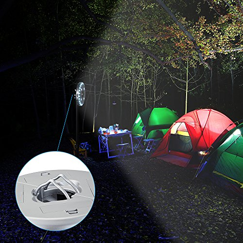 Led Umbrella Amazon: OMorc Patio Umbrella Light With 3 Level Brightness