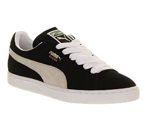 ee0dd98fac1396 Puma Suede Classic Black White - 4 UK: Amazon.co.uk: Shoes & Bags