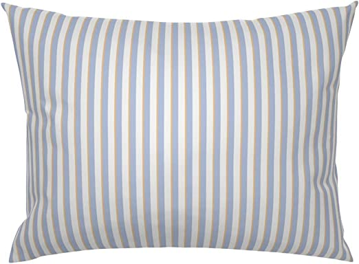 The Pillow Collection Henley Stripes Bedding Sham Sea Standard//20 x 26