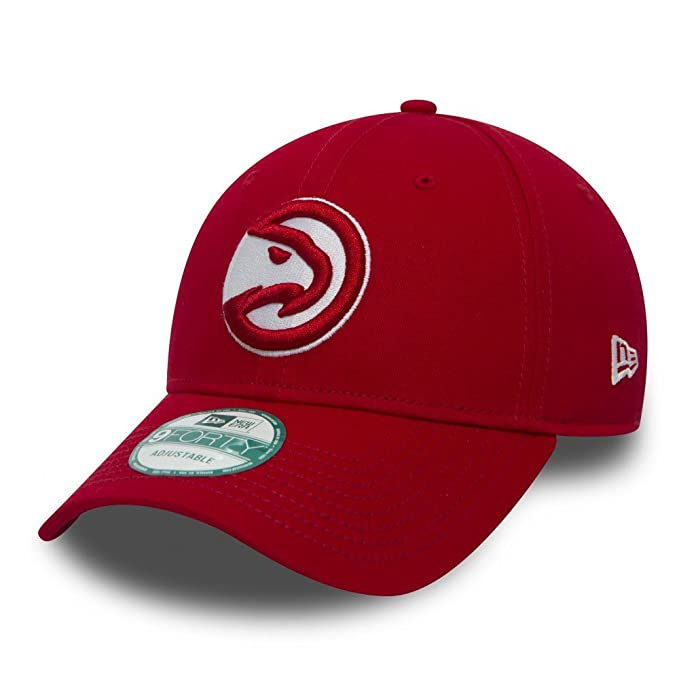 New Era NBA ATLANTA HAWKS Team 9FORTY Game Cap: Amazon.es: Ropa y ...