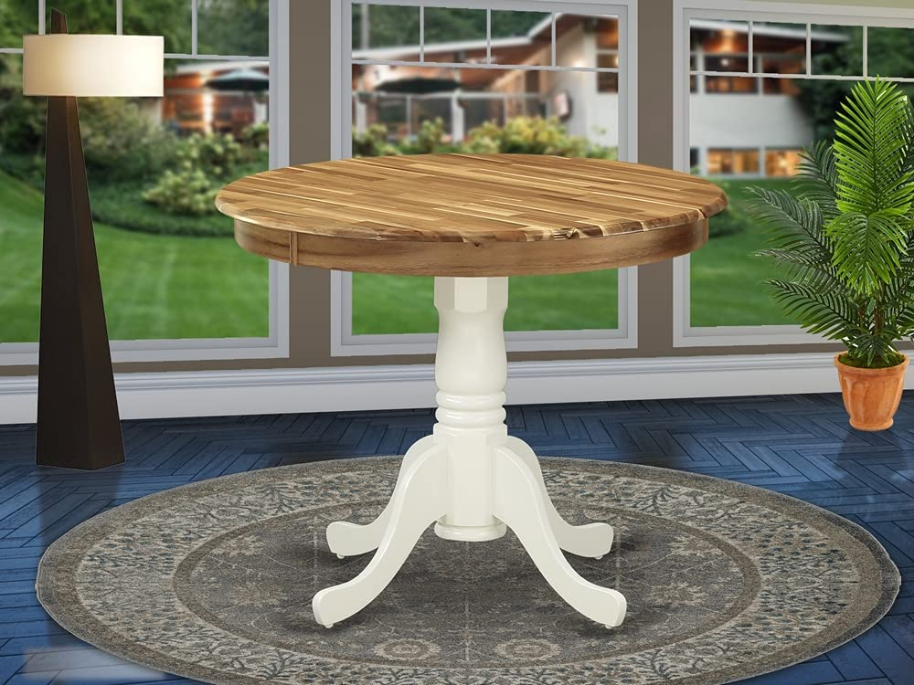 East West Furniture Dining Table, AMT-NLW-TP