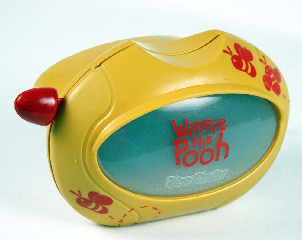 ViewMaster Classic WINNIE THE POOH - Virtual Viewer, which produces a 50% larger image and Reels by 3Dstereo Gift Set (Image #2)