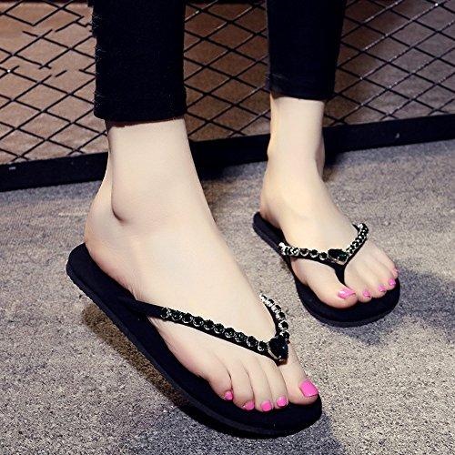 1cm à pour Main Chaussures HAIZHEN avec Femmes en pour Taille 7 Couleur 8 4 UK6 CN39 Femmes la Diamant Couleurs Décontractés Pantalons Femmes EU39 Faits FvqxFwt