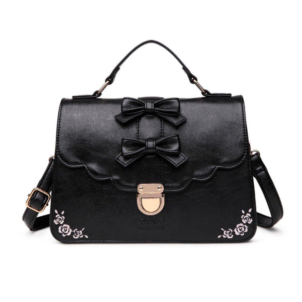 Lady Mode Stickerei Schultertaschen Einfach Rucksack Wild Handtasche Handtasche Handtasche Elegante Umhängetasche B07F9Q5YWZ Rucksackhandtaschen Viele Sorten da24be