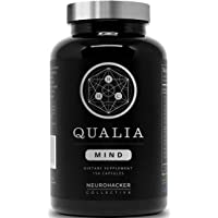 Neurohacker Collective Qualia Mind Qualia Mind Nootropics | Top Brain Supplement For Memory, Focus, Mental Energy, And Concentration With Ginkgo Biloba, Alpha Gpc, Bacopa Monnieri, Celastrus Paniculatus, Dha & More.(154 Ct)