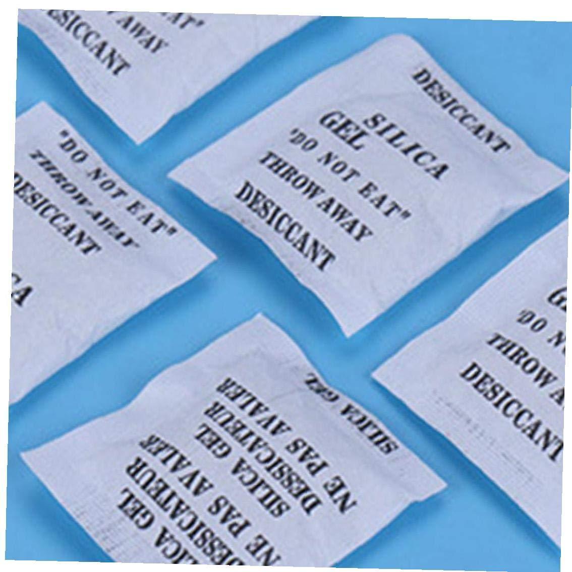 Ruluti 200 Paquetes No T/óXico Bolsitas De Gel De S/íLice Desecante Bolsas Drypack para La Sala De Cocina Ropa De Coches De Almacenamiento De Alimentos Secador