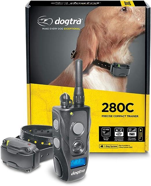 Dogtra 280C Waterproof 127-Level Precise Control LCD Screen ½-Mile Remote Training Dog E-Collar