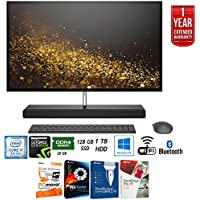 HP Envy 27-b110 Intel i7-7700T 128GB SSD 27 QHD All-in-One Desktop Computer + Elite Suite 17 Standard Software Bundle (Corel WordPerfect, PC Mover,PDF Fusion,X9) + 1 Year Extended Warranty