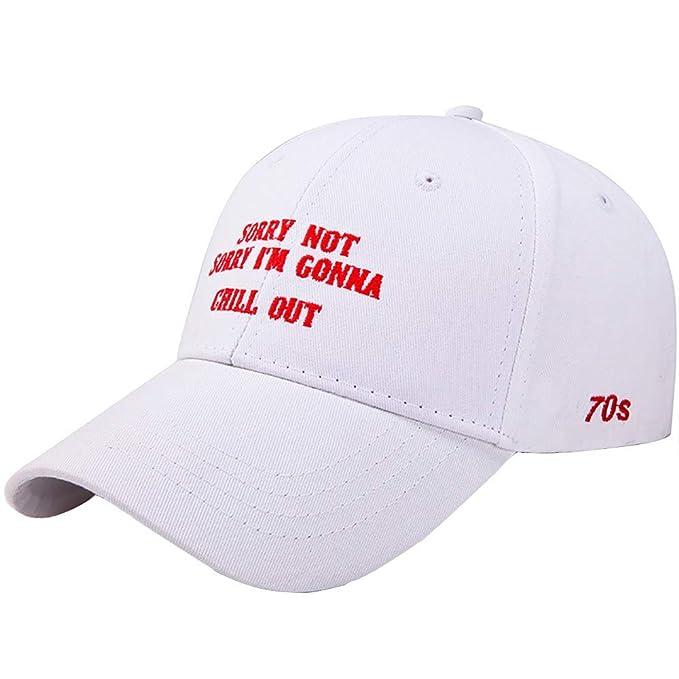 Rcool Gorras de béisbol Viseras Gorro de pescador Pamelas Sombreros Panamá, Sombrero al aire libre del viaje de la gorra de béisbol de la lona coreana: ...