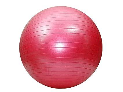 Pelota de Fitness 52 cm (con bomba de aire anti-burst) - rosa ...