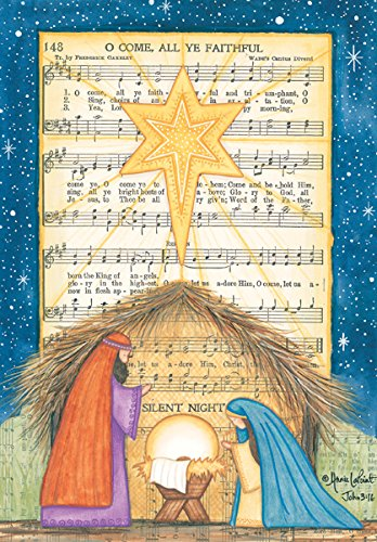 It Takes Two Nativity O Come All Ye Faithful Boxed Christmas Cards (CU706)
