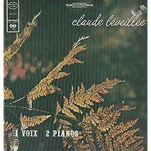 1 Voix 2 Pianos - (Canada - Reissue ) - Vinyl Records - LP