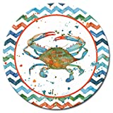 Product review for CounterArt Indigo Lagoon Lazy Susan Glass Serving Plate