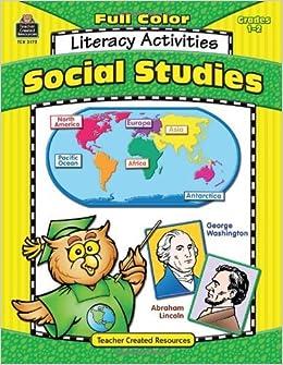 Full-Color Social Studies Literacy Activities by Klistoff Lorin (2004-02-23)