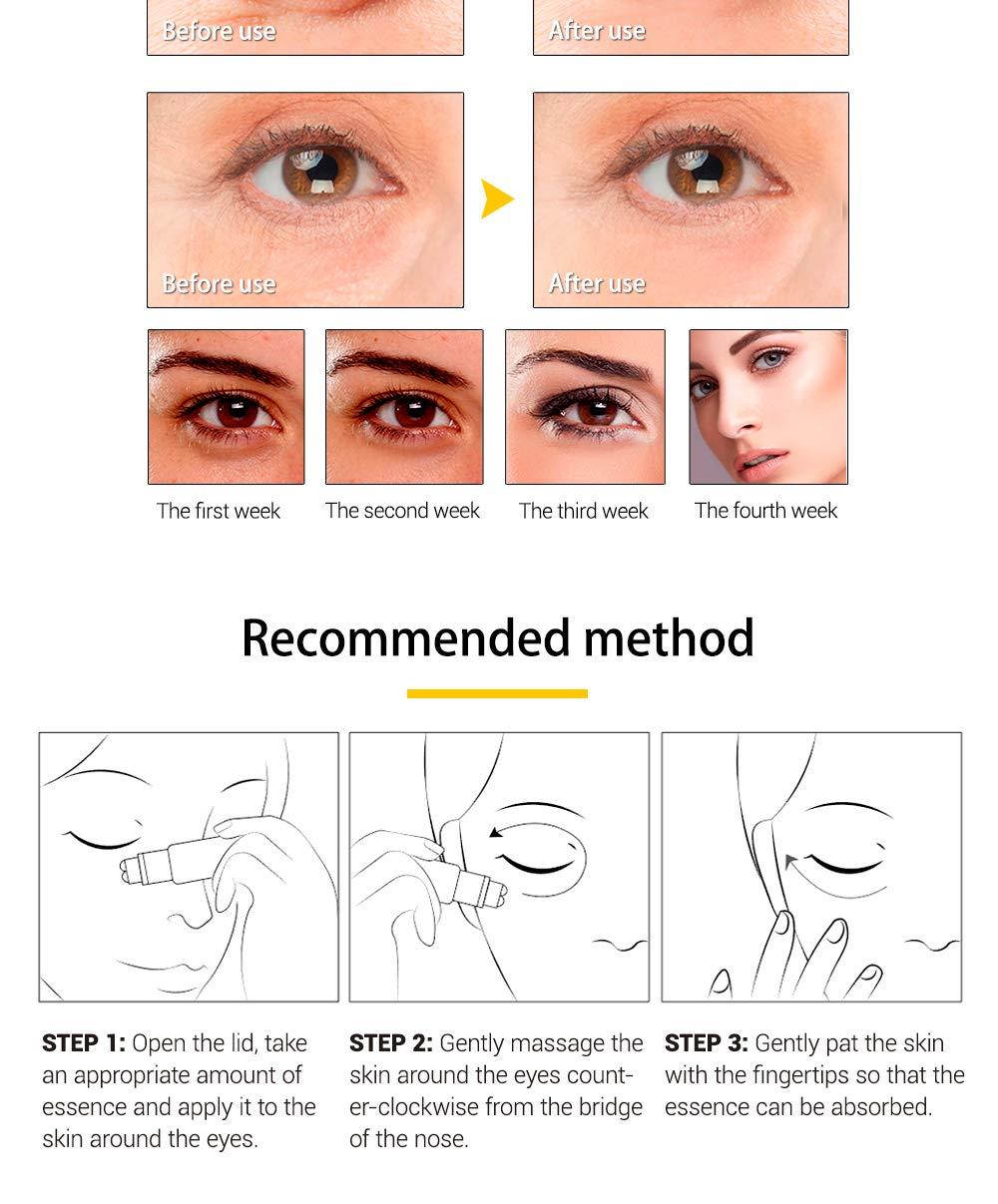 Amazon.com: Peptide - Masajeador de ojos antideshilache para ...