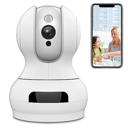 WLAN IP Kamera,Sailnovo 720P HD WiFi Cloud Überwachungskamera,Zwei-Wege-Audio,Baby & Home Monitor mit Bewegungserkennung,10m