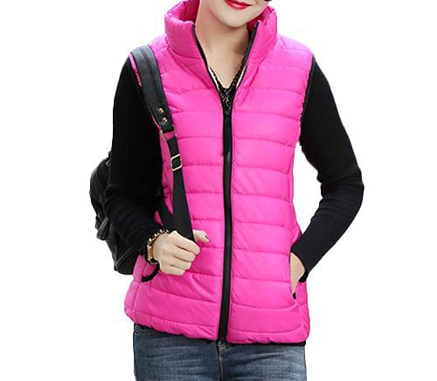 Nelliewins Plus Size Autumn Winter Coat Women Ladies Gilet Feminino Casual Waistcoat Female Sleeveless Cotton Vest Jacket