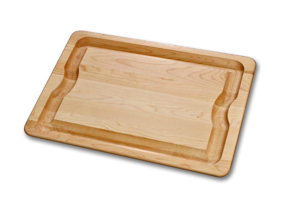 J.K. Adams 24-Inch-by-16-Inch Sugar Maple Wood Barbeque Carving Board by J.K. Adams