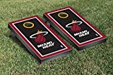 Miami Heat NBA Basketball Cornhole Game Set Border Version