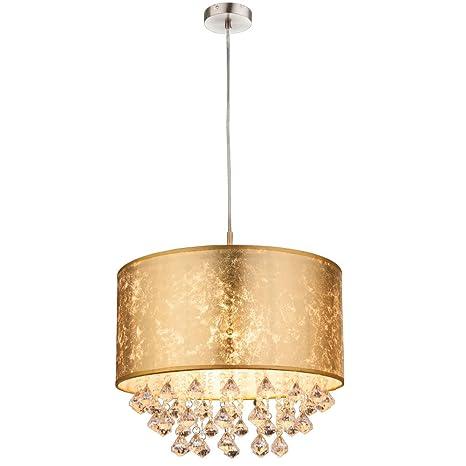 Globo Amy - Lámpara de techo, níquel, 60 W, color dorado ...