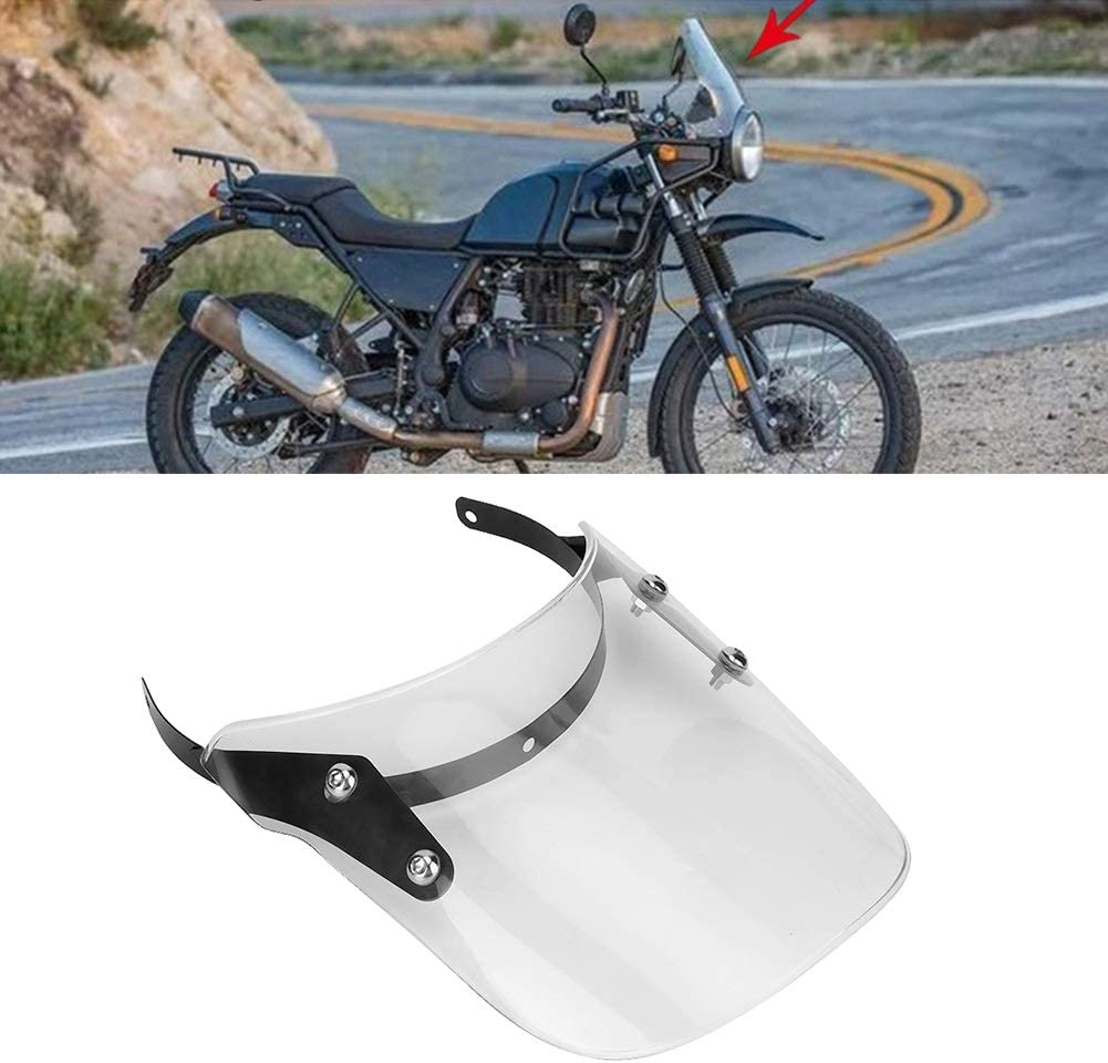 Motorcycle Modified Windshield Wind Deflector Fit For Royal Enfield Classic 500c Transparent Wind Deflector